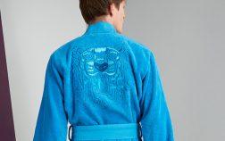 Peignoir Iconic bleu Homme